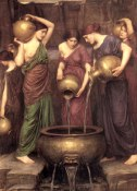 The Danaides by Waterhouse